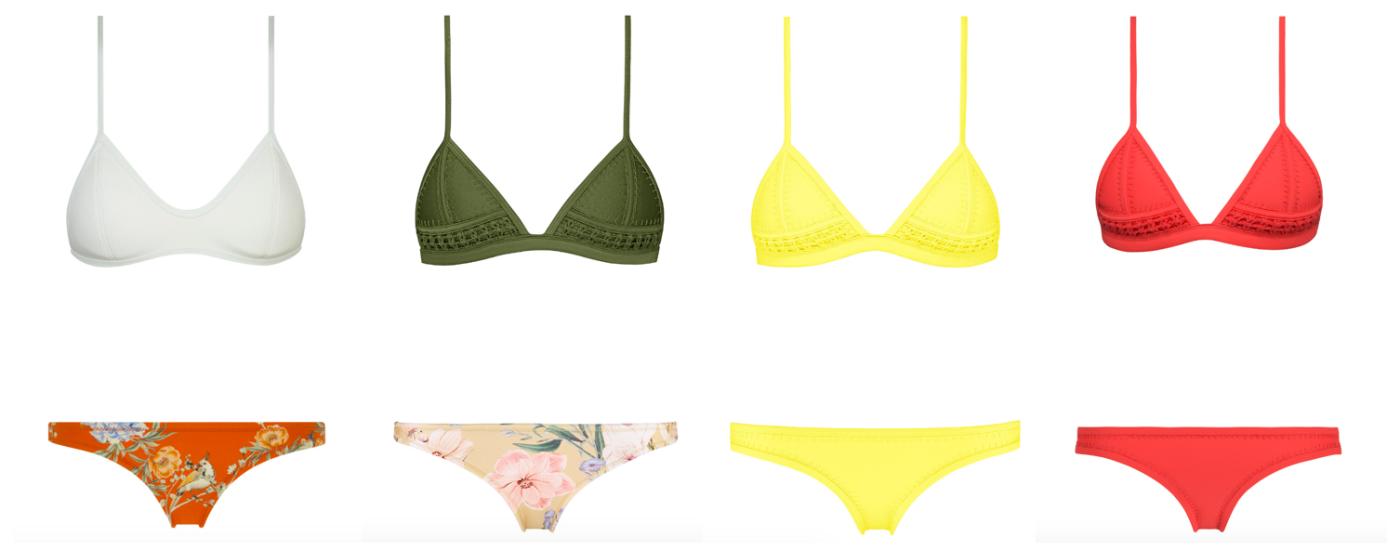 Triangl bikinis