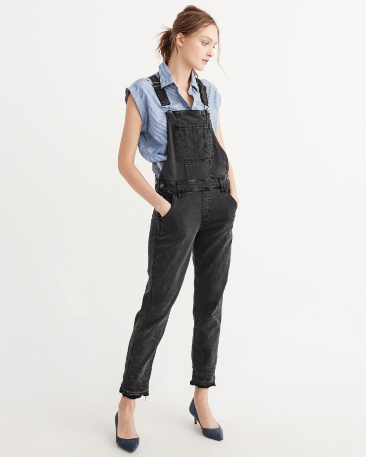 Abercrombie denim overalls