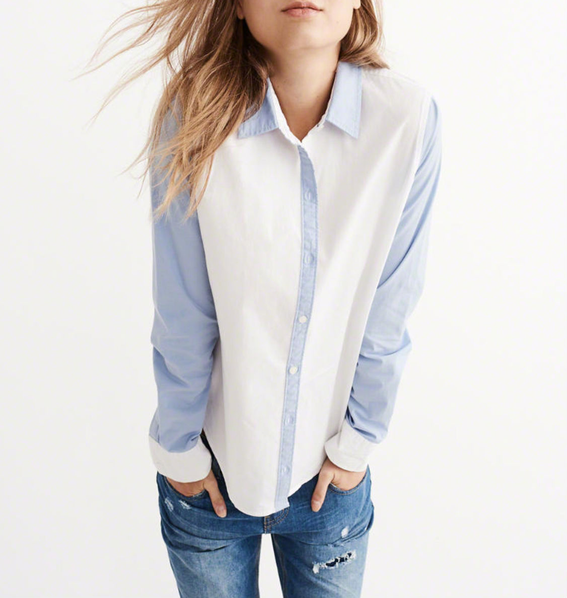 contrasting-sleeve-shirt