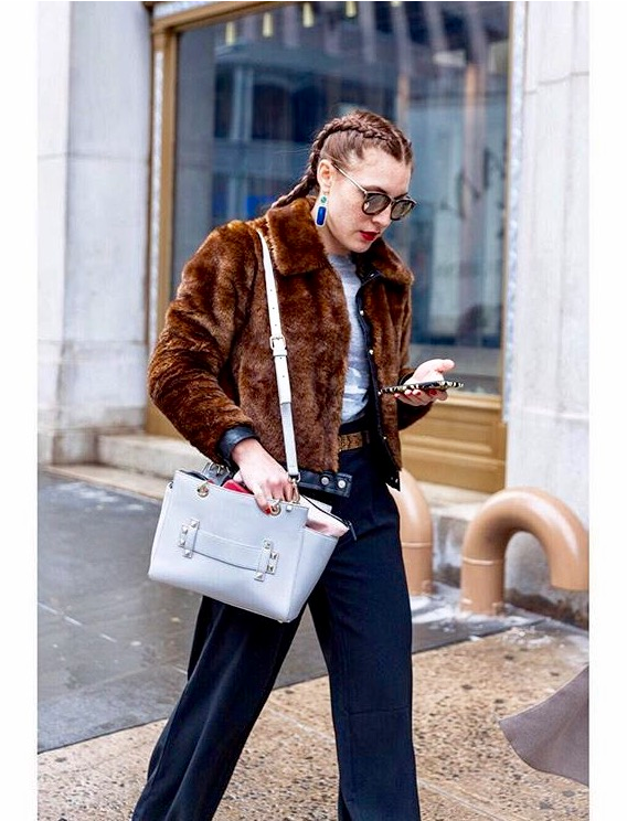 Vanessa Renae | NYFW Street Style