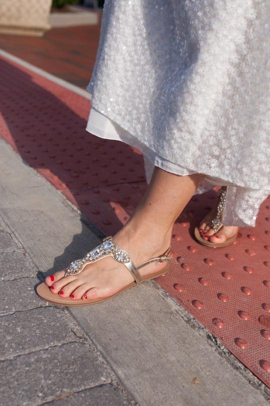 Davids bridal sandals