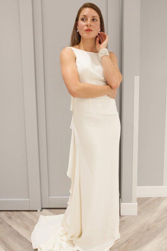 Davids bridal sheath dress