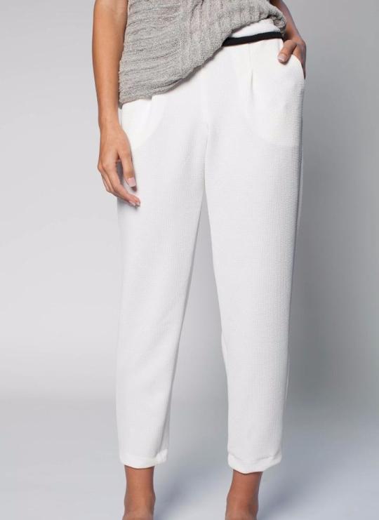 White track pant