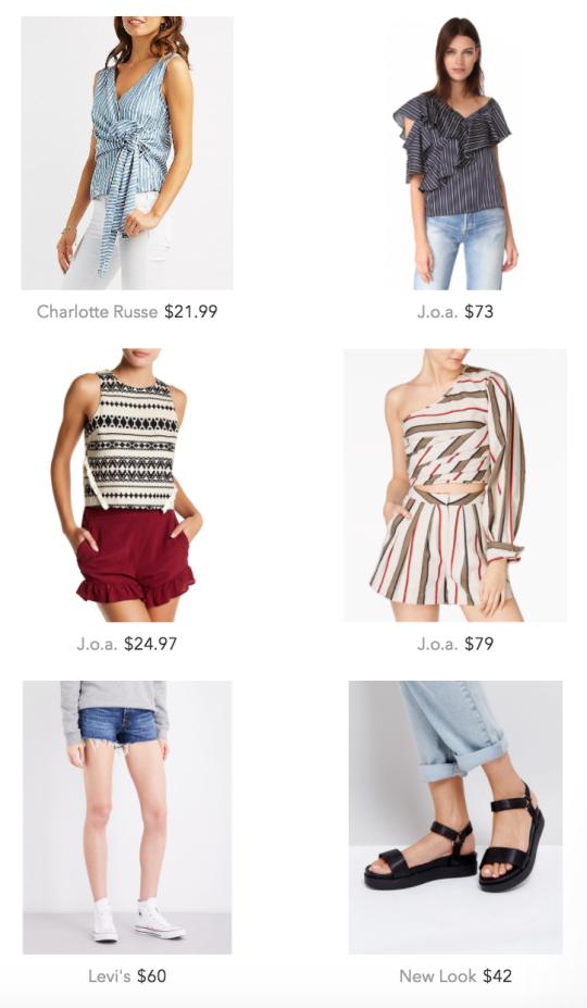 Shop women's summer outfits