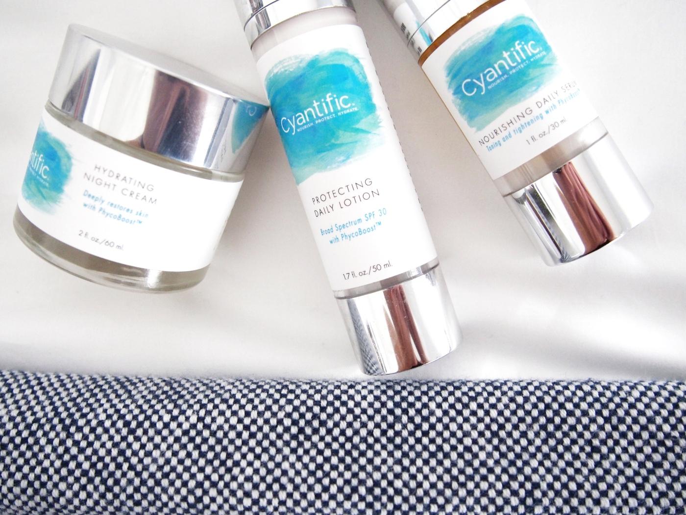 Cyantific Skincare Regimen