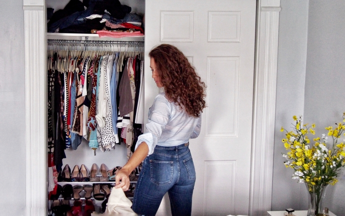 Seasonal closet clean out tips