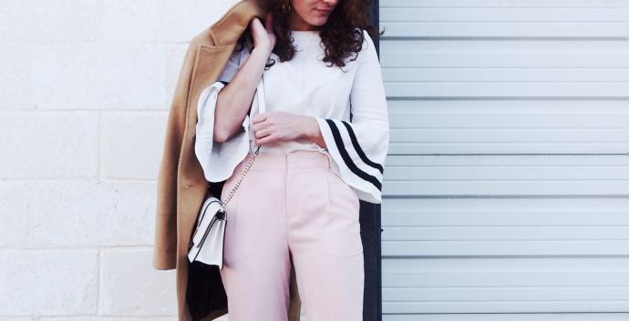 Blush pants
