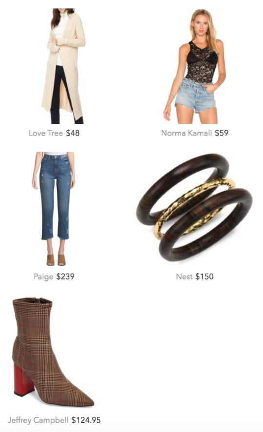 cardigan outfit idea