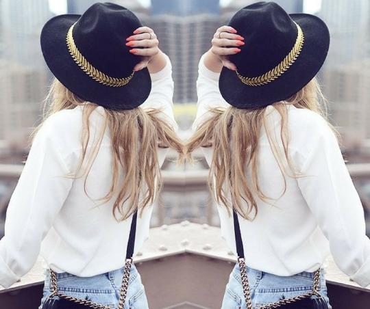 Women's french girl hat