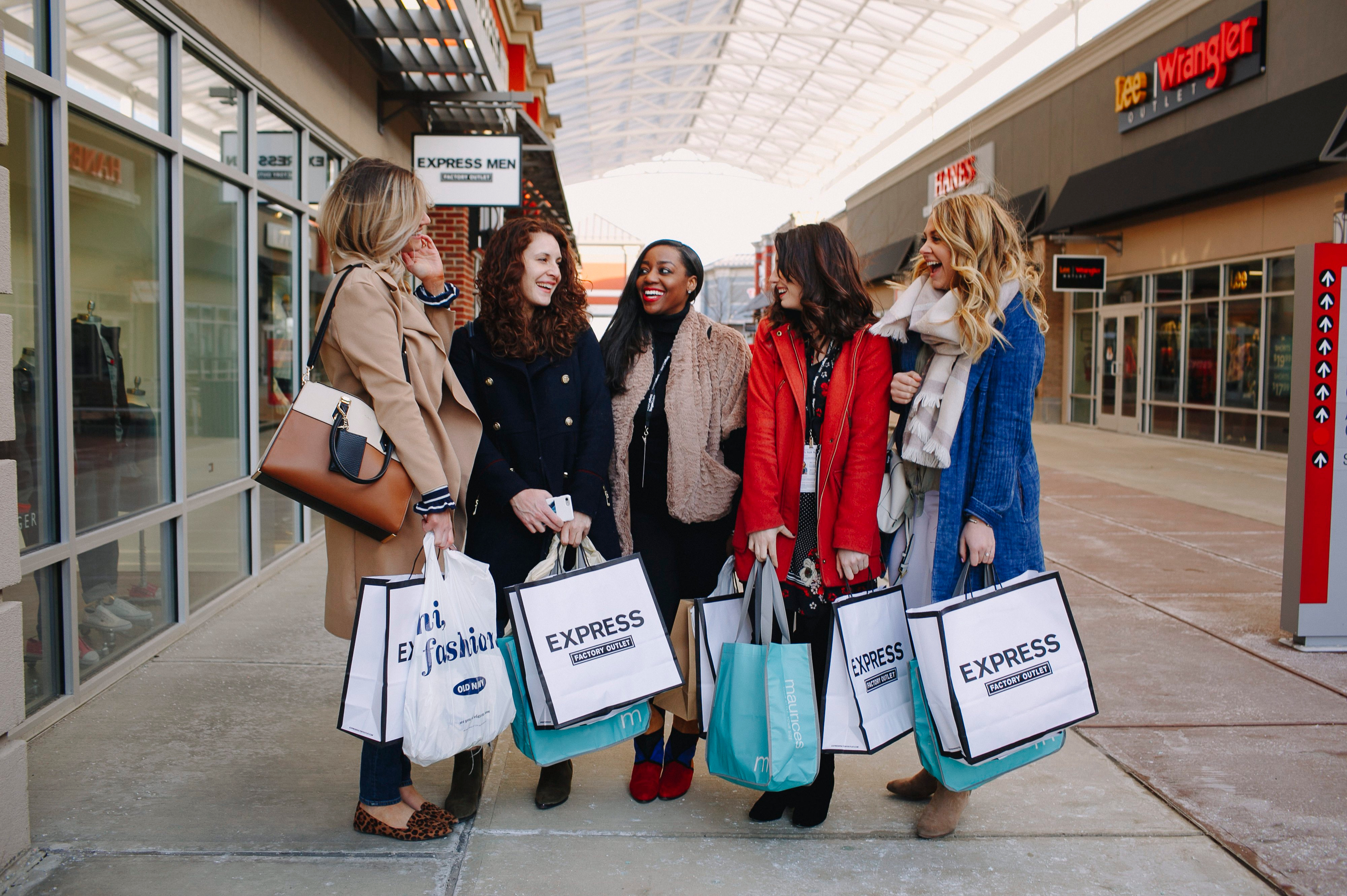 Tanger outlet mall Columbus, Ohio