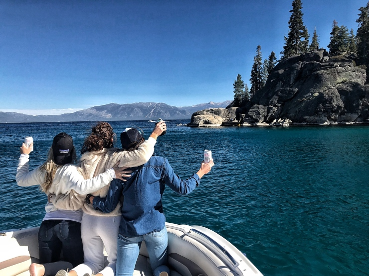 Lake tahoe boat tour